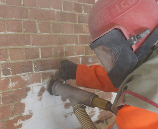 Vacuum Blasting Lead Paint Removal TandT Group