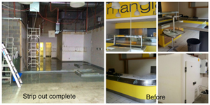 BBC Retail Unit Strip Out and Isolation by TandT Group