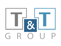 T and T Group logo Ground Works Formwork Demolition and Refurbishments